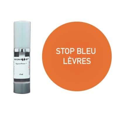 Stop bleu